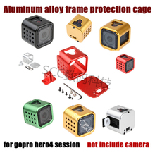 Go pro Camera accessories 2015 new Gopro Hero 4 Session Camera frame Aluminium Protective shell with Quick Buckle