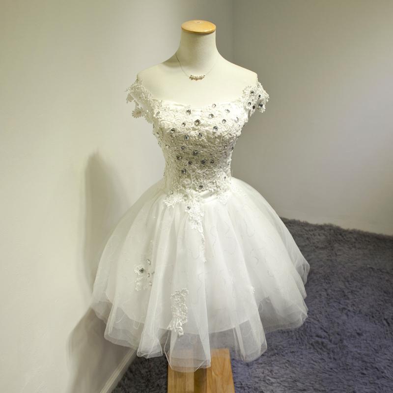 Elegant Bridal Ball Gown Party Bridesmaid Chiffon Dress Princess Tulle Tutu Dress Vestidos De Novia(China (Mainland))