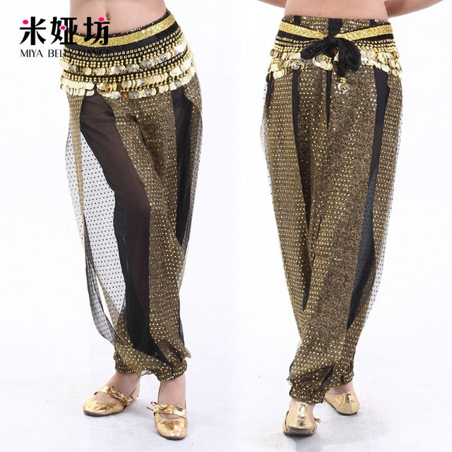Indian dance belly dance clothes clothing costume leotard belly dance trousers bottoms bloomers