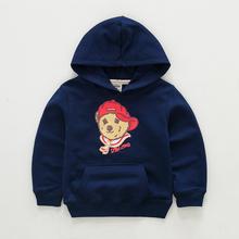2016 New Children Hooded Hoodies Boys Sport Sweatshirts Girls Fashion Spring Hoodie Kids Autumn Top Clothes (China (Mainland))