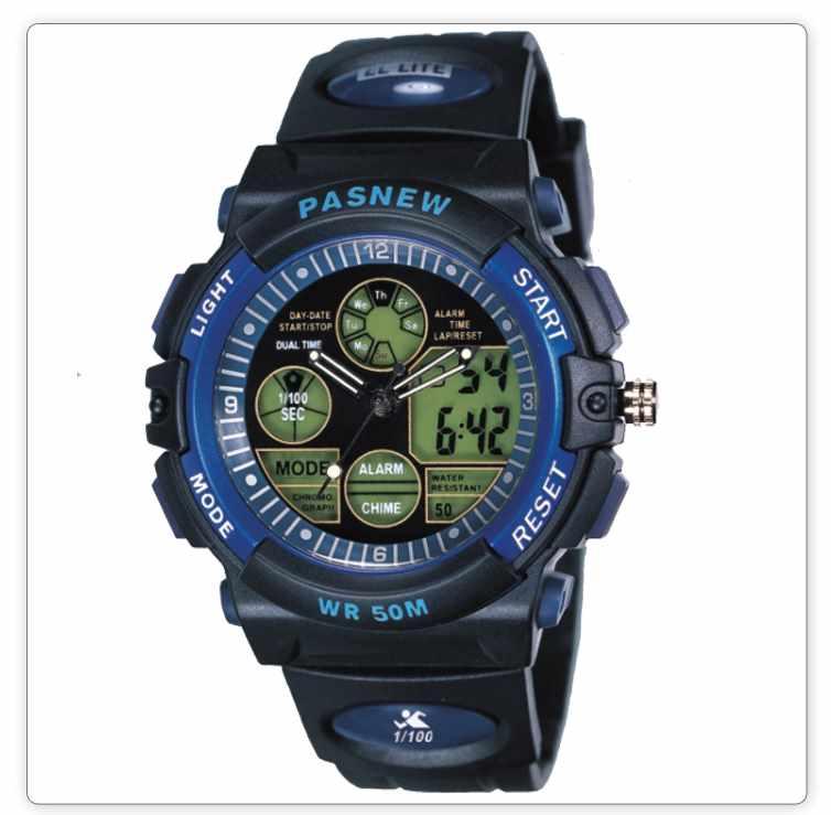 Alarm Digital sports Watches for men 50M Professional Waterproof Quartz military Luminous wristwatches 2016 fashion(China (Mainland))