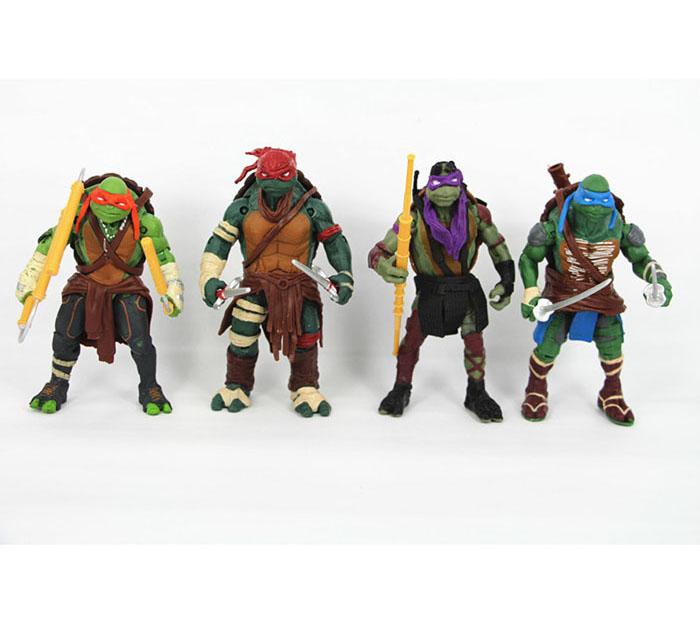 Teenage Mutant Ninja Turtles hasbroeINGlys Action Figure TMNT Model Toys For Boys Juguetes Gift Brinquedos(China (Mainland))