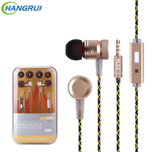 Buy Original G63 metal bass earbuds Microphone Stereo Bass earphones iPhone 6s Samsung Huawei Xiaomi piston Sport earphones for $2.76 in AliExpress store