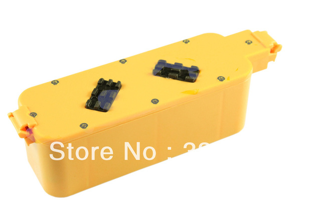14.4V, 2100mAh, Ni-MH  Replacement for irobot Roomba 400 Series, Roomba 4000 Series, Roomba Discovery Series cleaner Battery