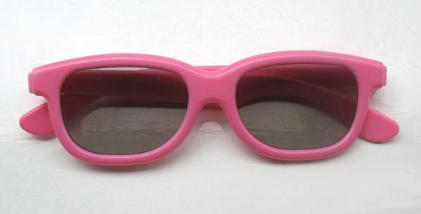 2pcs/lot [kids size] Hot TAC len Circular Polarized Children kids 3D Glasses for Real D Master Image passive 3D TV Free Shipping(China (Mainland))