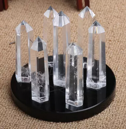 SCY 306+++Genuine natural white crystal icicle shock seven array(China (Mainland))