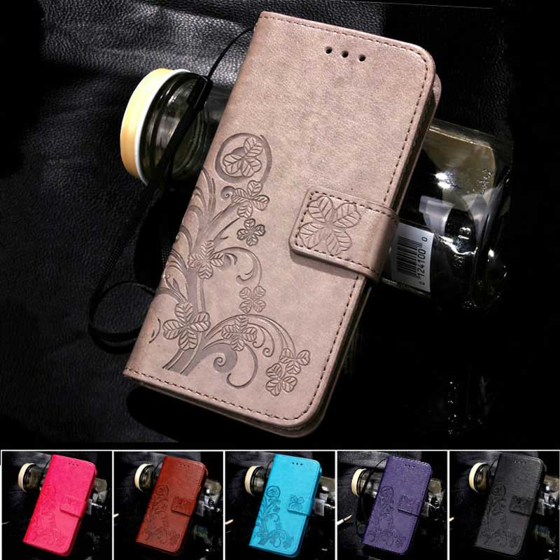 Four Leaf Clover Case for Samsung Galaxy S7 Edge Cover Flip Wallet Case Samsung S7 Edge Phone Coque Hoesjes PU Leather(China (Mainland))