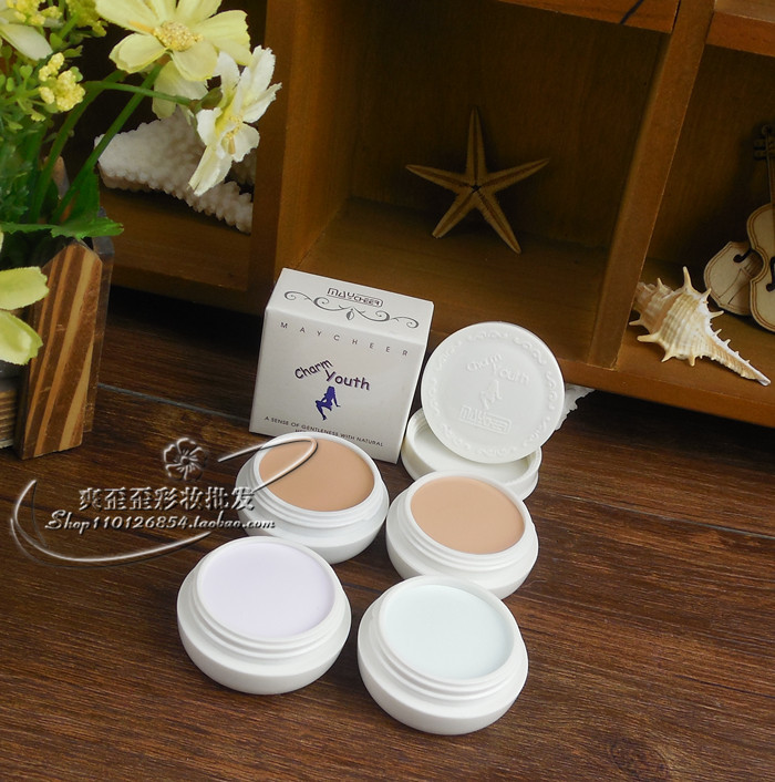 make up face care Single Concealer Foundation Professional High Quality Makeup Cosmetic Palette concealer palette(China (Mainland))