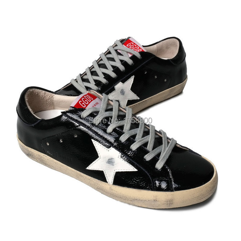 2015 Italy Brand Golden Goose GGDB Superstar Men Women Sneakers Retro Style Cowhide Cheap Sale In order to promote the market