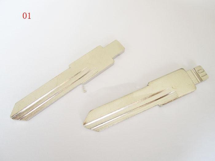 Free shipping Good Qaulity For Santana For Jetta For Old Audi 100 For Golf key shell Key Blade 01# Car key blade 10pcs/lot(China (Mainland))
