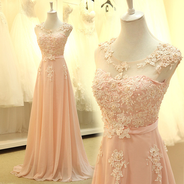 Cool Women Bridal Party Evening Dresses Long Cap Sleeve Prom Ball Dresses