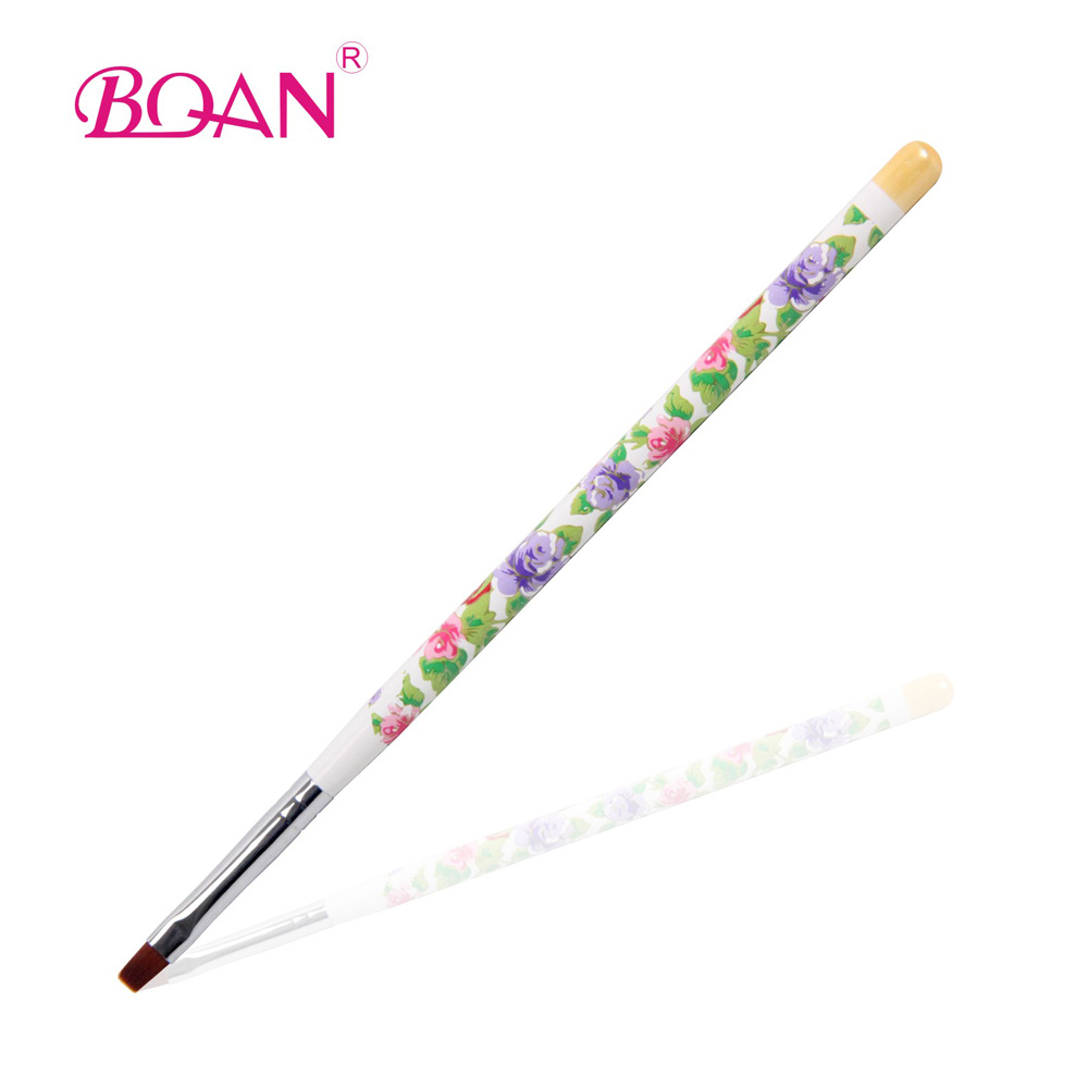 Free Shipping New Brand Wholesale Gel Brush Nail Art Pen Polish Brush French Nail Brush(China (Mainland))