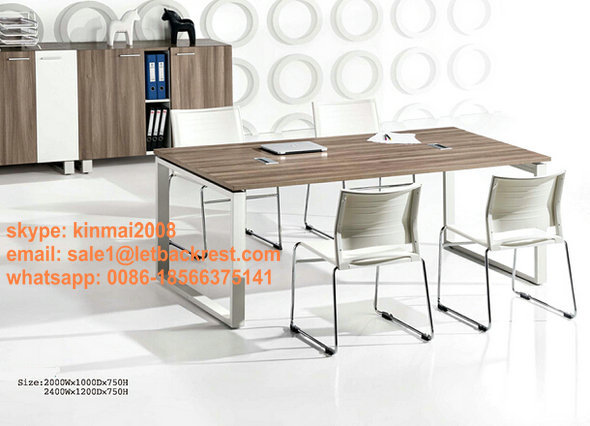 wooden meeting table conference desk meeting room office furniture(China (Mainland))
