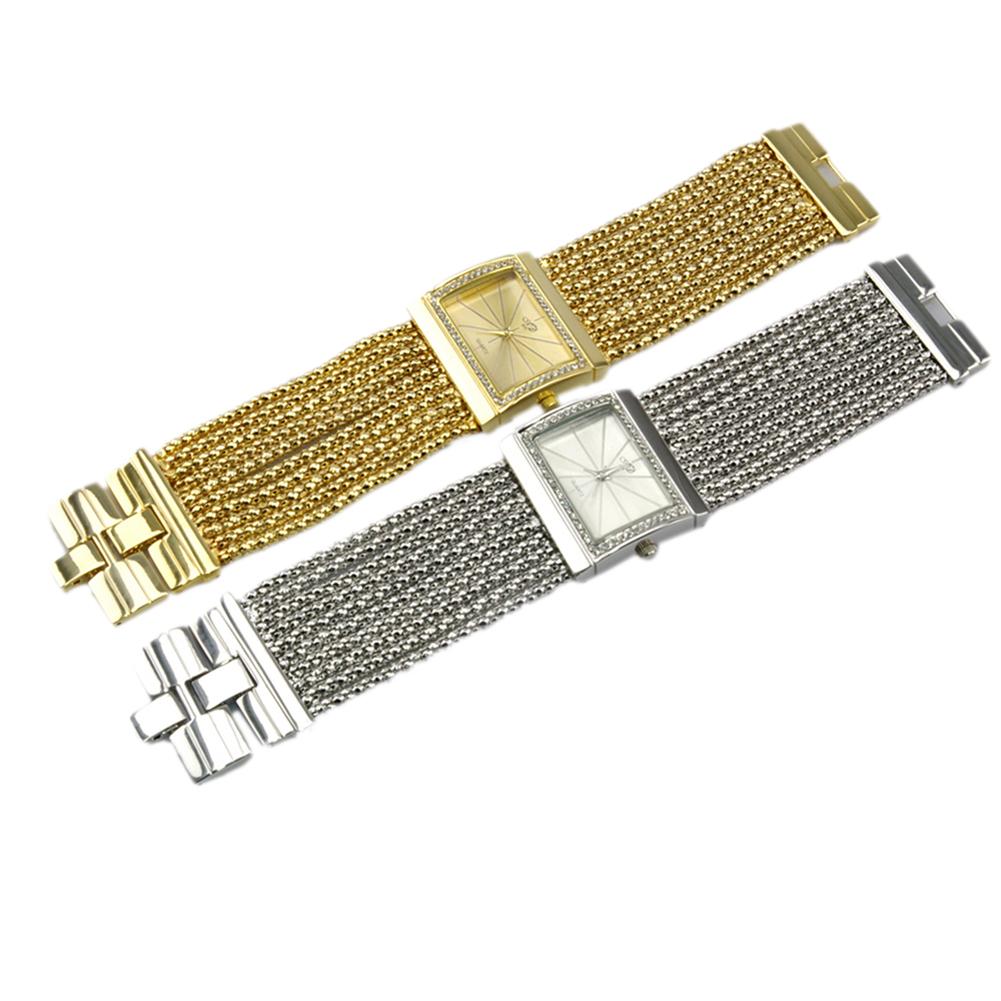 2014 Fashion Luxury Woman Watches Wide Band Fully-jewelled Quartz Analog Ladies Watches Wristwatch Women