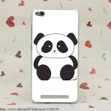 1265-GOP panda Hard Transparent Case Redmi 2 2A 3s Pro Note 3 Meizu M2 Mini M3 - ShenZhen SIX 6 Co,.Ltd store