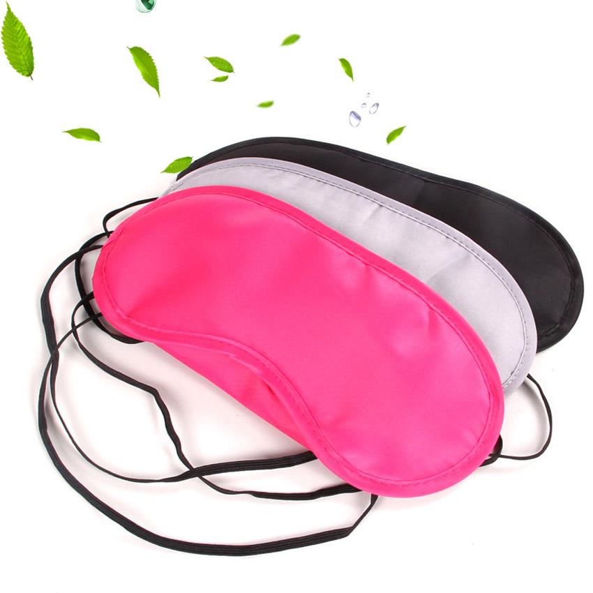 1 pc Portable Soft Travel Sleep Rest Aid Eye Mask Cover Eye Patch Sleeping Mask Case(China (Mainland))