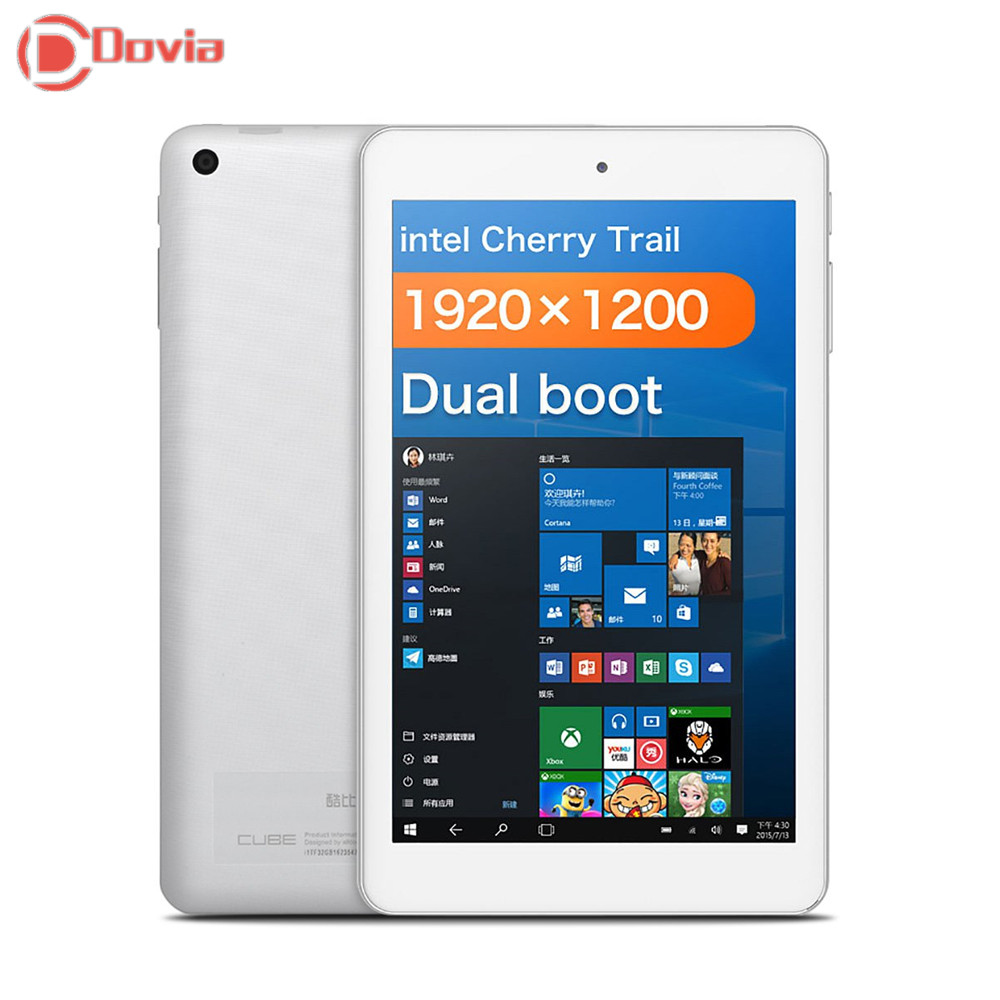"""CUBE iWork8 Air Tablet PC Windows 10&Android 5.1 8.0"""" IPS Screen Intel Cherry Trail Z8300 Quad Core 1.44GHz 2GB+32GB Dual Camera(China (Mainland))"""