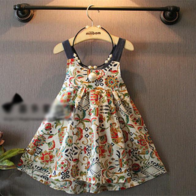 2016 весной новые девушки западный стиль назад кросс ремень платье детей платья colothes
