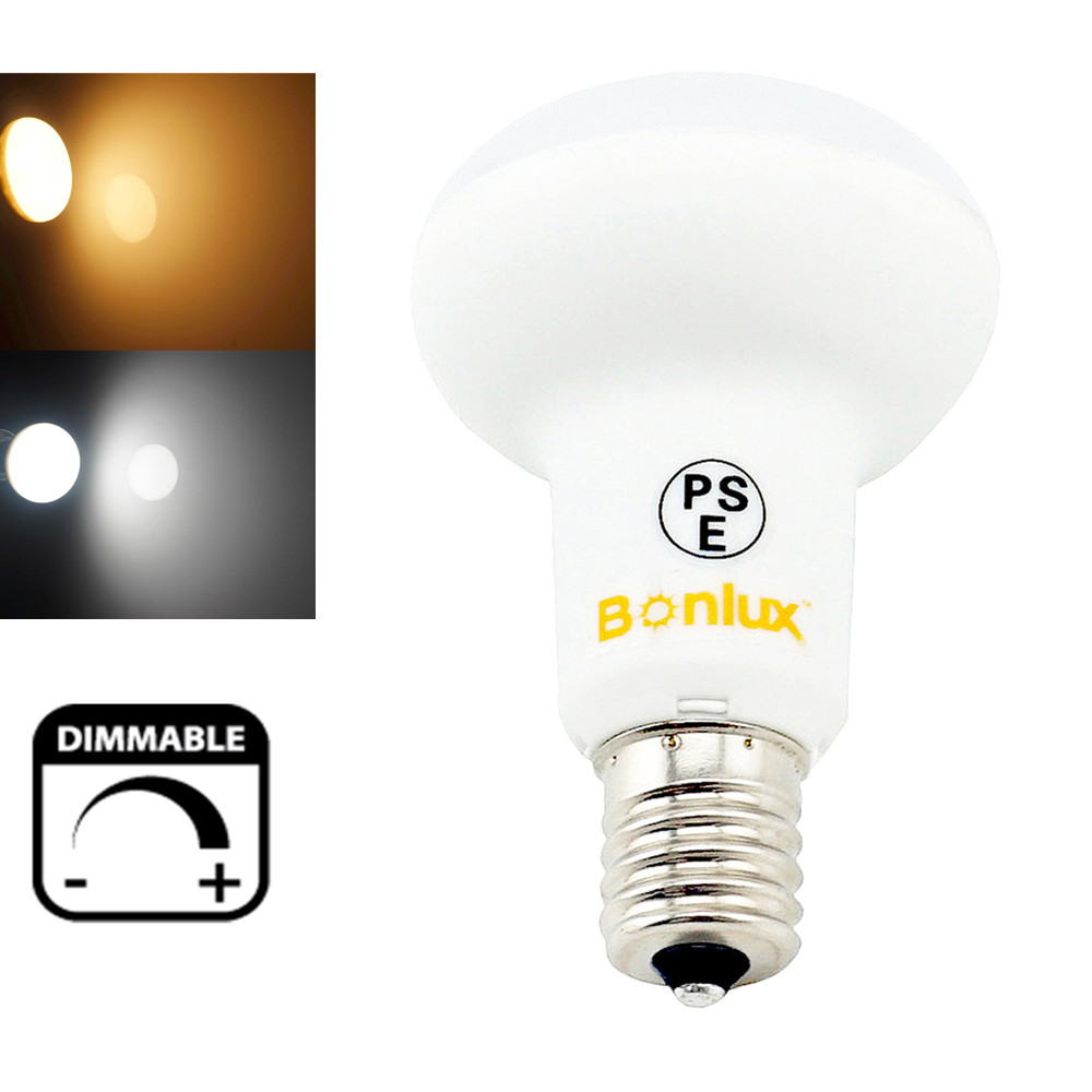 Dimmable E17 Base R16 LED Light Bulb SMD5730 5 Watts R14 Dimming Lamp 50W Halogen Bulb Replacement<br><br>Aliexpress