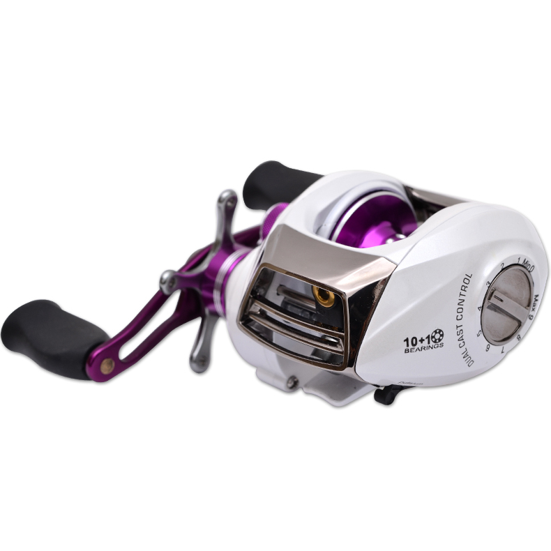 New arrival!Trulinoya baitcasting reel right hand 10+1BB seawater-proof,dual cast control,promotion price,free shipping(China (Mainland))