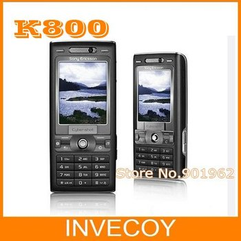 Original K800 unlocked moblie Phone Sony ericsson k800i 3G GSM Unlocked 3.2MP Camera Bluetooth freeship