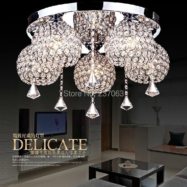 Здесь можно купить  Free shipping 2014 NEW arrival crystal ceiling light lustre home decoration ceiling chandelier for living room  Свет и освещение