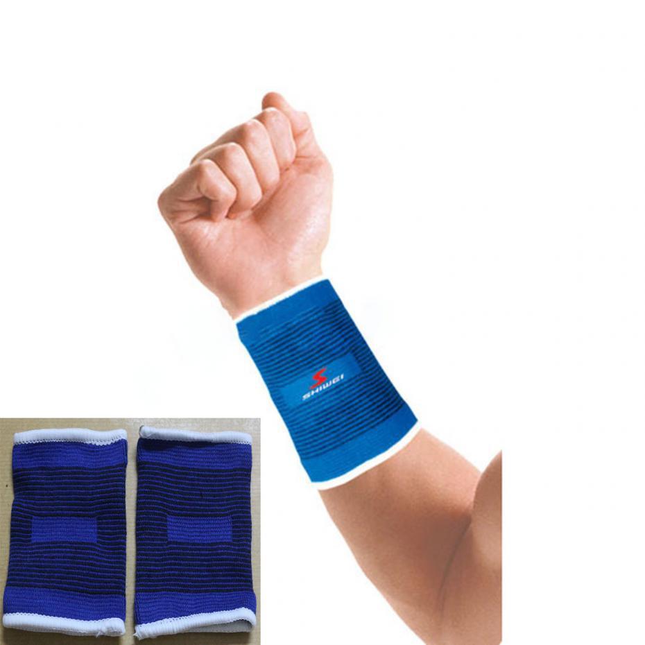 1 Pair Elastic Nylon Sports Wrister, Wrist Support Band Hands Brace Wrap Bandage , Protective Belt Of Wrist(China (Mainland))