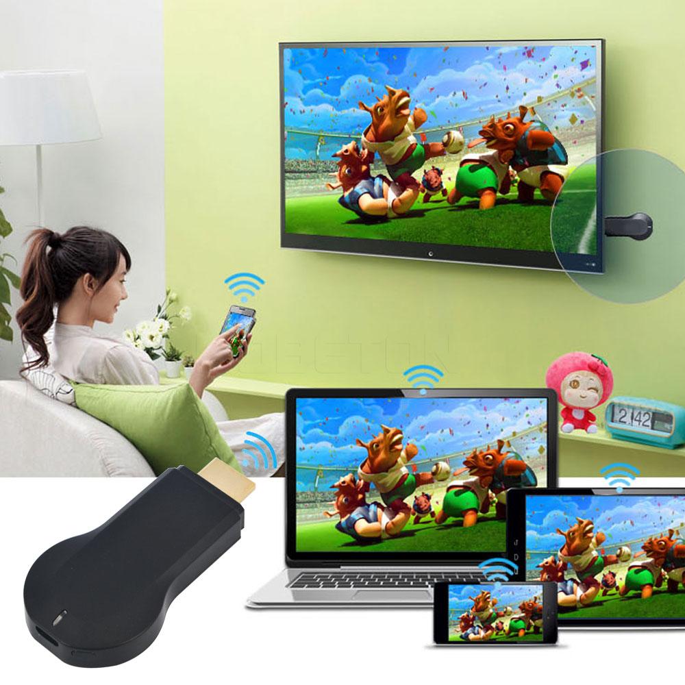 Hot M2 WIFI Media Player Miracast DLNA Air paly 1080P Windows iOS Android Ipush Smart TV Stick Dongle Google Chromecast(China (Mainland))