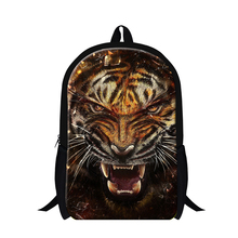 Buy 2016 tiger printing child school backpack cool animal back pack teenager,mens favourite tasmanian tiger backpack travle for $19.75 in AliExpress store