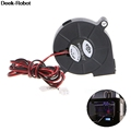 1Pc 12V DC 50mm Blow Radial Cooling Fan Hotend Extruder For RepRap 3D Printer