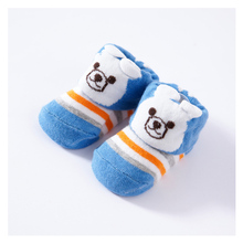 6pairs lot 0 6 months Cotton cartoon stereo socks 12 kinds of design baby non