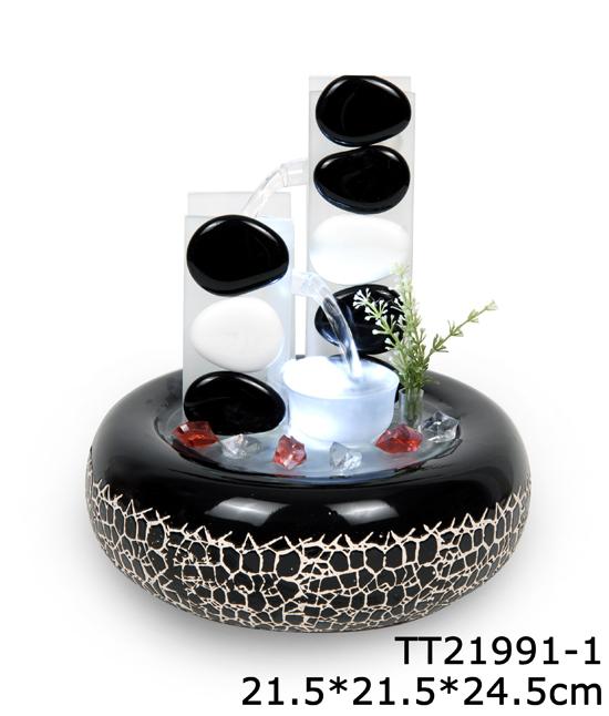 Comercial de agua decoraci n de piedra fuente de agua - Comprar fuente de agua ...