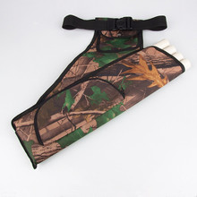 Upscale Outdoor Sports Equipment Bags Camouflage Archery Hunting Bow Bag Waist Hanging Easy Quiver Arrow Pot
