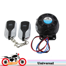 Buy 125dB Motorcycle Scooter Alarm Anti theft Security System Loud Sound Vibration Burglar Alarm Harley Touring Yamaha tmax 530 for $15.69 in AliExpress store