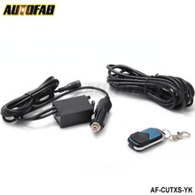 AUTOFAB - Wireless Remote 12ft Wiring Harness For Exhaust Muffler electric Cutout System AF-CUTXS-YK(China (Mainland))