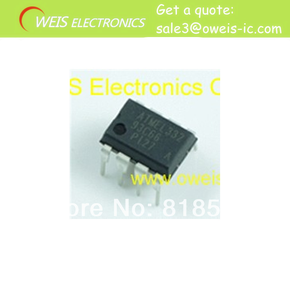 FREE SHIPPING 10pcs/lot At93c66 dip electronic wholesaler o(China (Mainland))