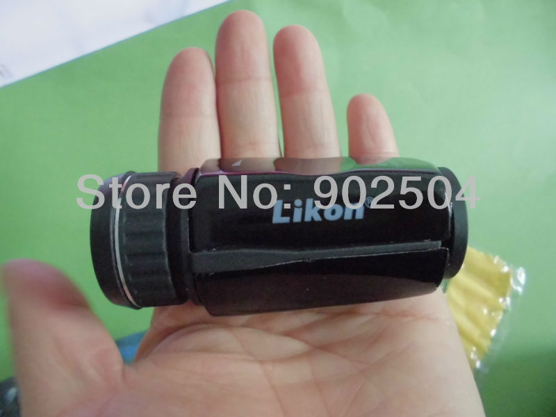 Pocket-size Black Mini 6X16 Monocular  telescope with Wide Angle for Outdoor Sports Camping Hiking<br><br>Aliexpress
