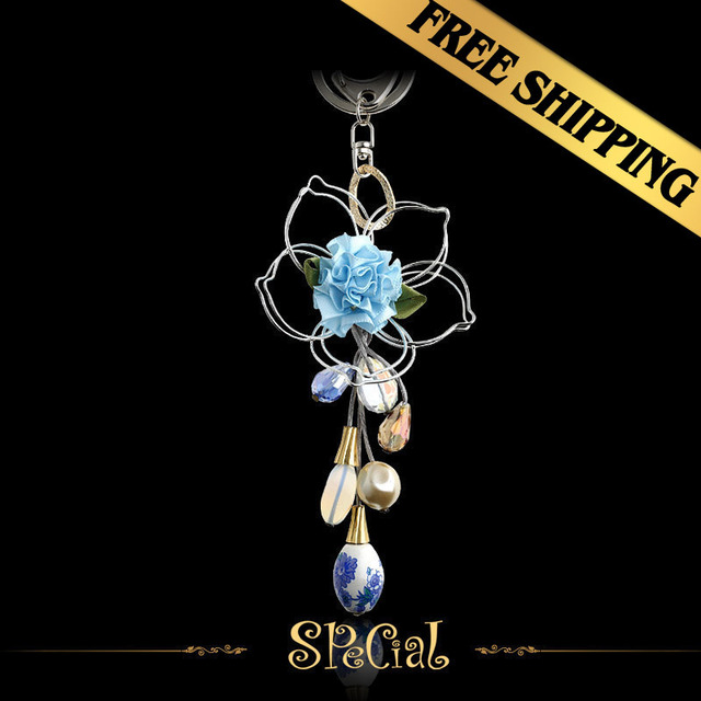Special Chain Necklaces Silk Crystal Ceramic Classic Handmade Fashion Flowers Design Free Shipping Pendant Jewelry YKQ01A02A
