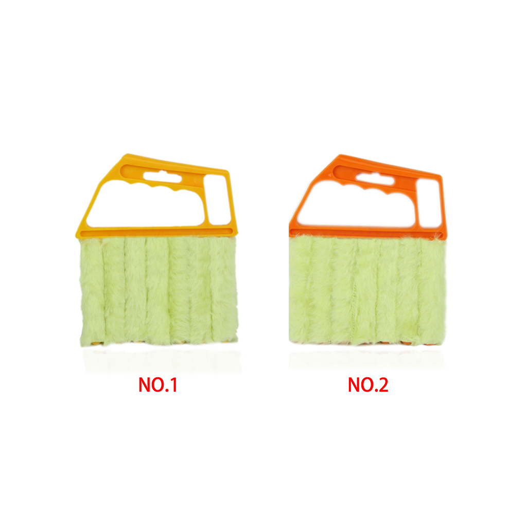 Newest 2015 hot saling Multifunctional Orange Feather Dusters Dust Cleaning Brush For Blinds Best Deal Mini Duster(China (Mainland))