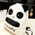 Women Backpack 2016 Winter Cute Cartoon Plush Panda School Bags Female Youth Backpacks for Teenage Girls