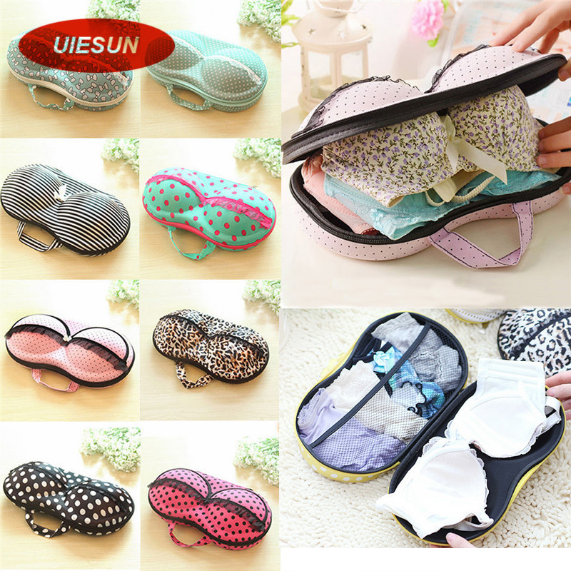 8 Colors Storage Bag Box Protect Bra Organizer Container Underwear Case Travel Portable UIE493(China (Mainland))