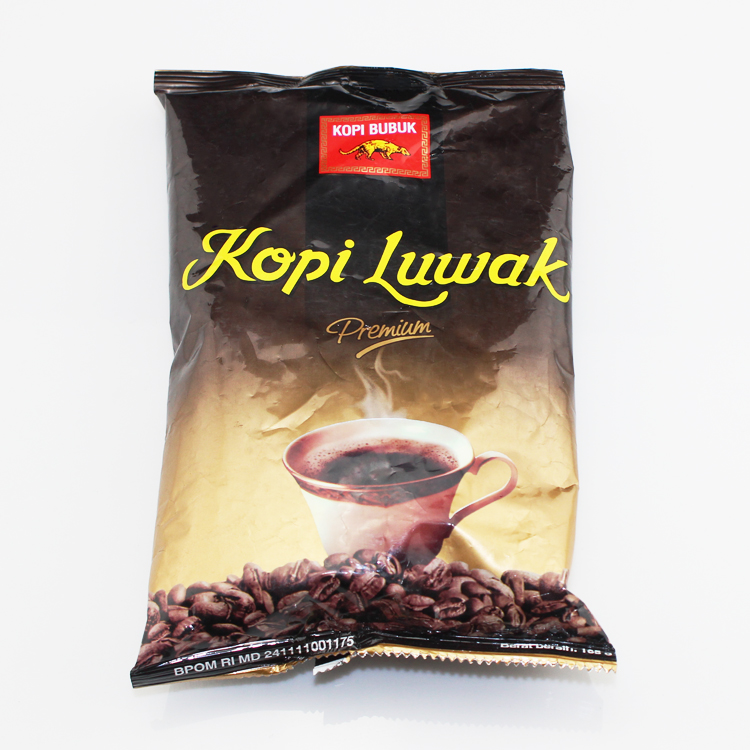 165g bag High Quality Kopi Luwak coffee from Indonesia Luwak coffee Free shiping