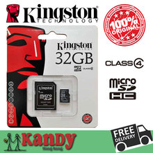 Kingston micro sd card memory card 4gb 8gb 16gb 32gb class 4 microsd cartao de memoria tarjeta micro sd carte micro sd tf card