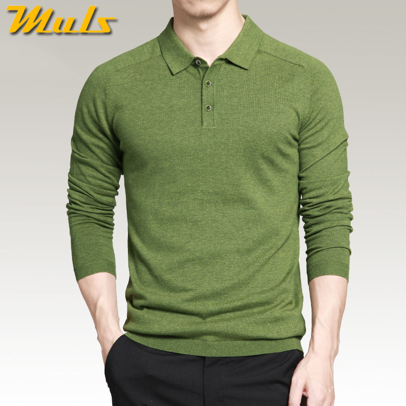 8 colors mens polo sweaters Simple style cotton knitted long sleeve pullovers big size 3XL 4XL spring autumn Muls brand MS16005Одежда и ак�е��уары<br><br><br>Aliexpress