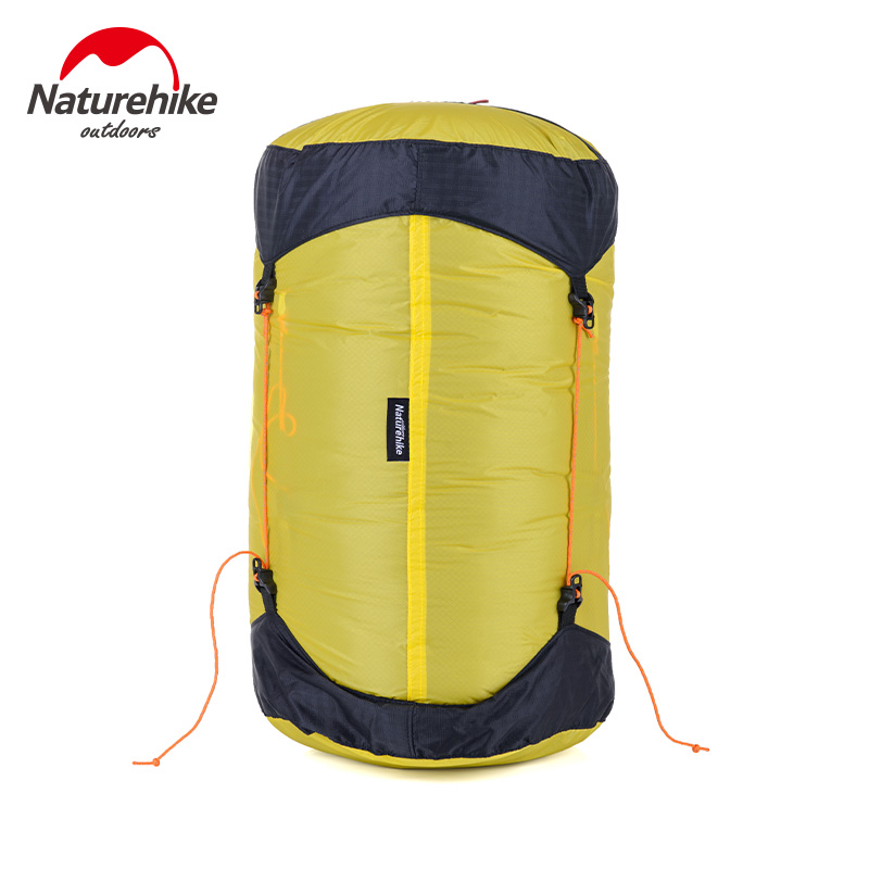 NatureHike Outdoor Sleeping Bag Sack Pack Compression Stuff Sack 20D Silicone Waterproof Storage Carry Bag For Camping Hiking(China (Mainland))