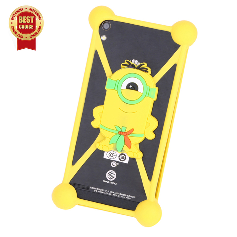 Luxury Cover Case For Vodafone Smart prime 6 Mobile Phone Bag Smart Phone Cases Cover 3d Cartoon Silicone Anti-knock Case(China (Mainland))
