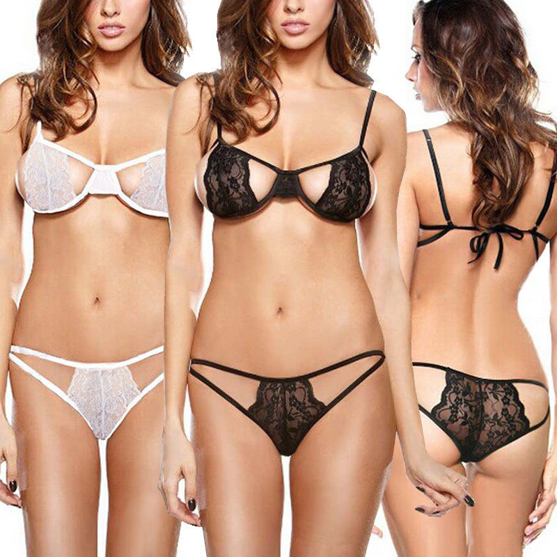 Sexy Lace Lingerie Underwear Set(China (Mainland))
