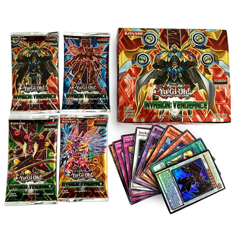 English Version 216 pcsset Yu Gi Oh Game Collection Card Yugioh Cards Figure Toy Free Shipping (3)