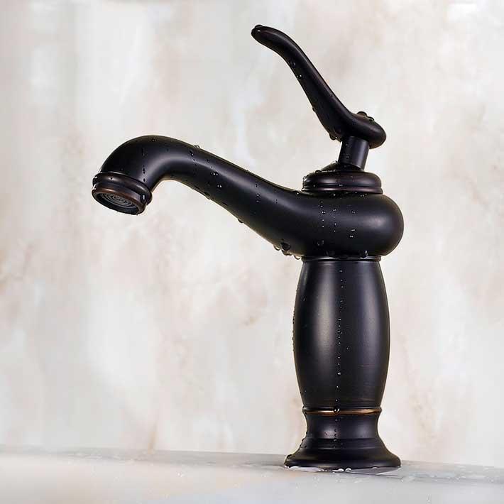 Torneiras para pia de banheiro deck mounted single handle  hole Bathroom Sin -> Pia De Banheiro Jacuzzi