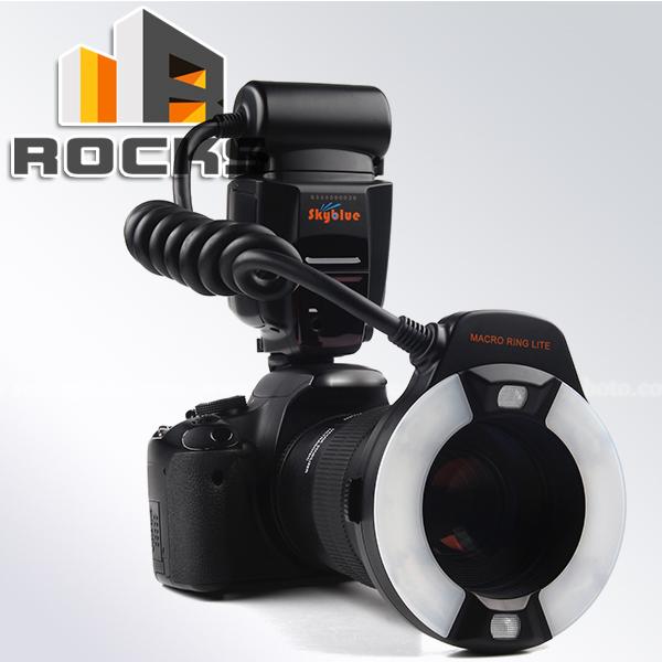 Meike TTL MK-14EXT LCD LED Macro Ring Flash light Suit for Nikon D5300 D600 D800s D3300 D3200 D5200 D90 D4 D3(China (Mainland))